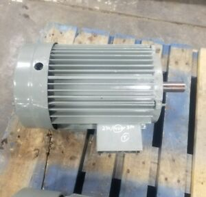 Lincoln 7 5 Hp 3 Phase 213t Electric Motor 1745 Rpm 3504sr