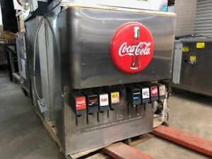 Cornelius 8 Head Df250 bcz Coke Drink Fountain Countertop With Carbonation Pump