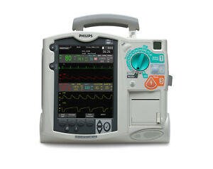 Philips Mrx Biphasic 3 lead Ecg Aed Pacing Biomed Certified