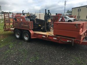 Ditch Witch Jt5 Directional Drill And Fx20 Vac