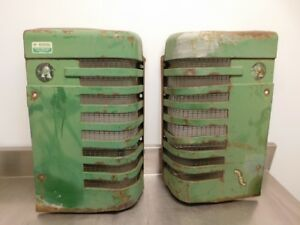 John Deere Styled A Tractor Front Grilles Aa2238r Aa2239r 11928