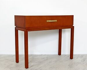 Mid Century Modern Tommi Parzinger For Charak Console Foyer Table 1950s