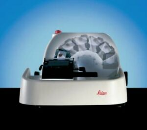 Leica Dsc1 Rotary Disc Microtome With Control Keypad And Footpedal