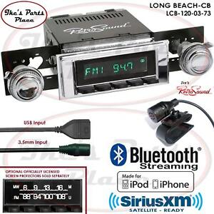 Retrosound Long Beach Cb Radio Bluetooth Ipod Usb 3 5mm Aux In 120 03 Camaro