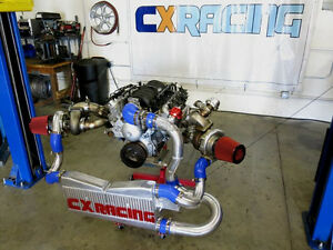 Cxracing Twin Turbo Intercooler Kit For 04 06 Pontiac Gto Holden Monaro Ls1 Ls2