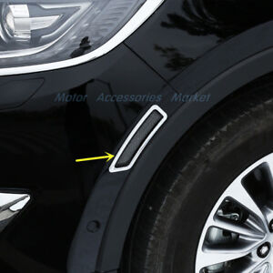 New Chrome Front Wheel Turn Signal Cover Trim For Lincoln Mkx 2016 2017 2018 19