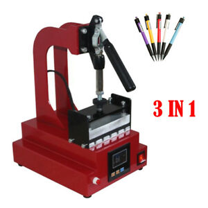 Digital Ballpoint Pen Heat Transfer Machine Pen Heat Press Machine Printing 110v