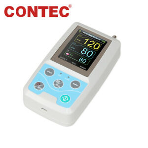 Us Contec Ce fda 24h Ambulatory Digital Blood Pressure Monitor Usb pc Sw Abpm50
