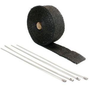 2 10m Super Thermo Car Motorcycle Heat Shield Exhaust Pipe Bandage Thermal Wrap