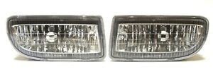 Toyota Land Cruiser Hdj100 1998 Front Bumper Fog lights Set Right left rh lh