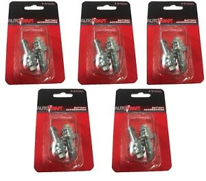 10 Pack Autocraft Long Side Terminal Battery Bolt Cable Extender Oem Bolt