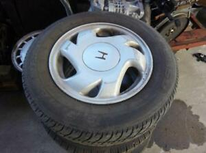 2000 Honda Civic Wheel Tire Set 08w14sr0100f Niq See Details Pics