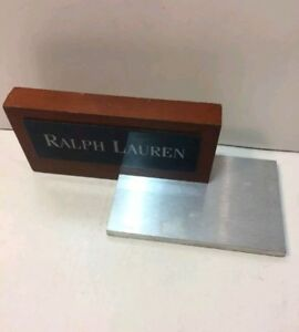 Ralph Lauren Store Display Desk Sign