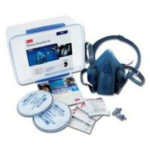 3m Welding Soldering Drilling Machining Safety Respirator Starter Kit 7528 Gp2