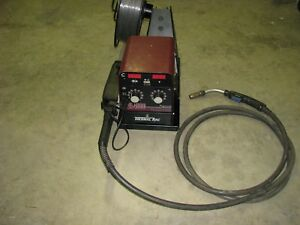 Thermal Arc Va4000 Ultrafeed Wire Feeder With Mig Gun For Wire Welding