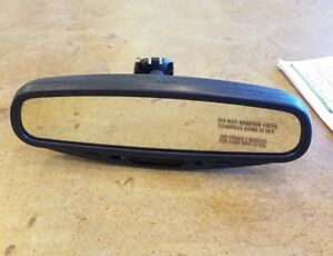 Toyota Oem 03 09 Tundra Rear View Mirror 00012 t0322 01 Compass Temperature