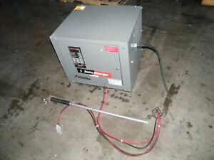 Hobart Accu charge Forklift Battery Charger 510c3 12 510c3 24 Volts 12 Cells
