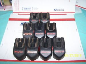 9 Snap On Batterys For Rebuild