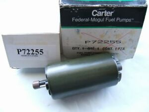 Carter P72255 Electric Fuel Pump For 1993 1998 Toyota Supra Denso 195130 1020