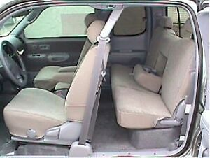 2005 2006 Toyota Tundra Access Cab Seat Covers Front Back Td5 V4 Exact Fit Tan