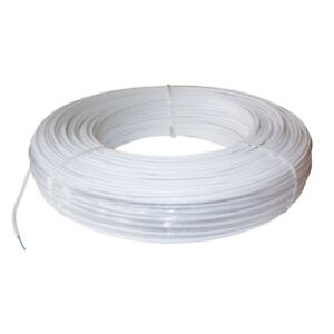 Horse Fence Wire Livestock Fencing Safety Coated High Tensile Heavy Duty White