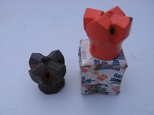Brunner Lay Rock Drilling Carbide Bits 2 Inch 4 Point H Thread