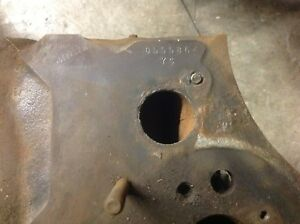 1969 Pontiac Gto Ys Engine Block Standard Bore 400 Automatic