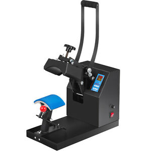 Heat Press Transfer Digital Clamshell 6 X 3 5 Hat Cap Sublimation Machine New