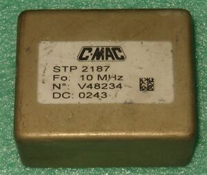 C mac Stp2187 Sine Wave 10 Mhz Double Oven Ocxo Oscillator 12v Efc Easy Kit