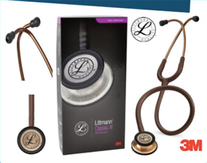 Best Master Cardiology Stethoscope 3m Littmann Classic Iii Tool Brown With Box