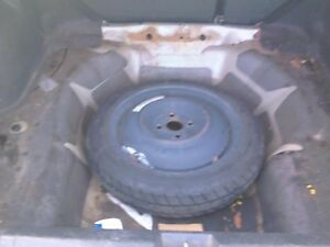 01 02 03 04 05 Civic Wheel 15 Compact Emergency Spare Donut Rim Tire 6570337