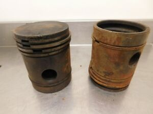 John Deere Unstyled G Tractor 045 Over Pistons F408r 11984