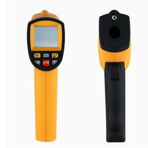 Lcd Digital 200 1650 c Ir Infrared Non contact Temperature Thermometer 50 1