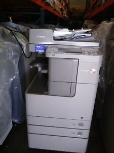 Canon Imagerunner Advance 4245 Printer Copier Scanner B w Mfp Low Meter