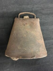 Antique Cow Bell With Original Clapper 5 1 4 Tall Rustic Farmhouse
