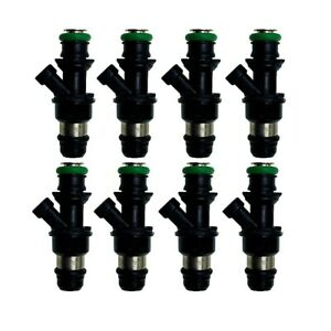 Set Of 8 42lb Oem Fuel Injector 25348180 For Chevy Gmc Marine 8 1l Truck V8 6 2l