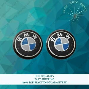 High Quality Bmw 2 Pieces Car Key Fob Remote Badge Logo Emblem Sticker Dia 11mm