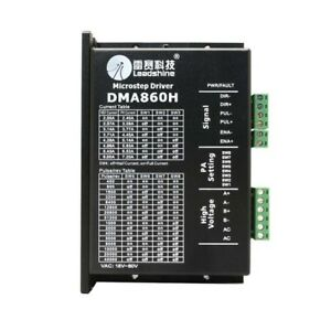 Leadshine Dma860h Stepper Motor Driver Stepping Motor For Cnc Machine Driving