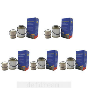 5pcs For 03 07 6 0l Powerstroke Diesel Ford Replaces Motorcraft Fuel Filter Kit