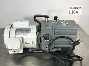 Leybold D4a Trivac Vacuum Pump used Working
