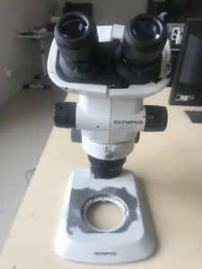 Olympus Szx7 Microscope nikon C w10xb 22 ach 1x shell Broken function Is Ok