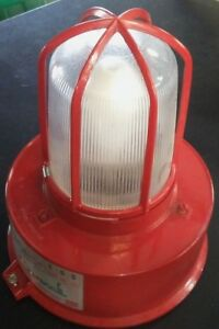 Crouse Hinds Champs Vmv Series Light Fixture New Red