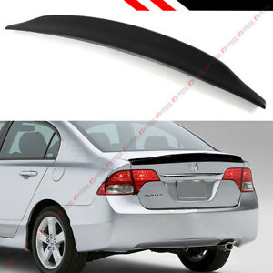 For 06 11 Honda Civic 4dr Sedan Fa Fa5 Jdm Duck Tail Duckbill Trunk Lid Spoiler