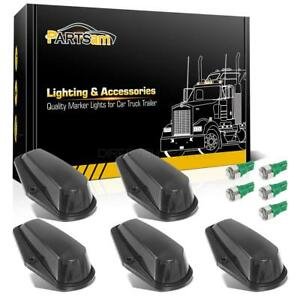 5x Cab Top Clearance Black Lights 5050 Green 168 Leds For Ford F 150 F 250 80 97