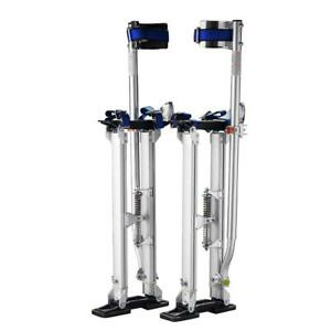 Pentagon Tool Professional 18 30 Silver Drywall Stilts Highest Quality