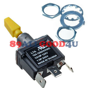 Toggle Switch L7asp4p15b0m3p With 3 Position For Jlg 450aj 600s 800s Boom Lift