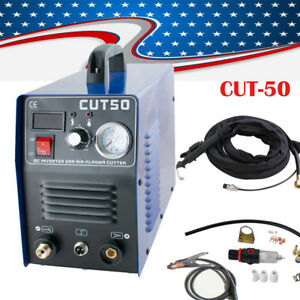 Pro Plasma Cutter 50amp Cut 50 Digital Dc Inverter Cutting Welding Machine Tool