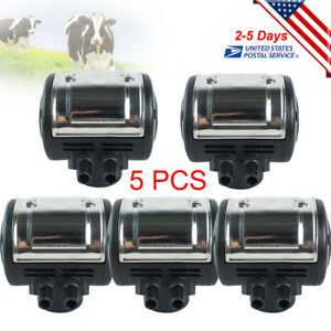 5pcs L80 Pneumatic Pulsator For Cow Milker Milking Machine Dairy Farm Usa Stock