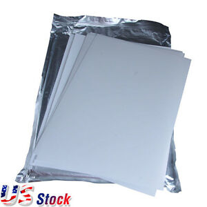 Us Stock 50 Sheets pack A4 Size 3d Sublimation Heat Transfer Film Paper