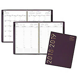At a glance r Contemporary Weekly monthly Academic Appointment Book planner 8